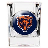 Chicago Bears Square Shot Glass - 2 oz. - Fanz of Sportz