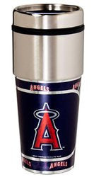 Los Angeles Angels 16 ounce Travel Tumbler with Metallic Graphics
