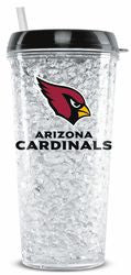 Arizona Cardinals Crystal Freezer Tumbler - Fanz of Sportz