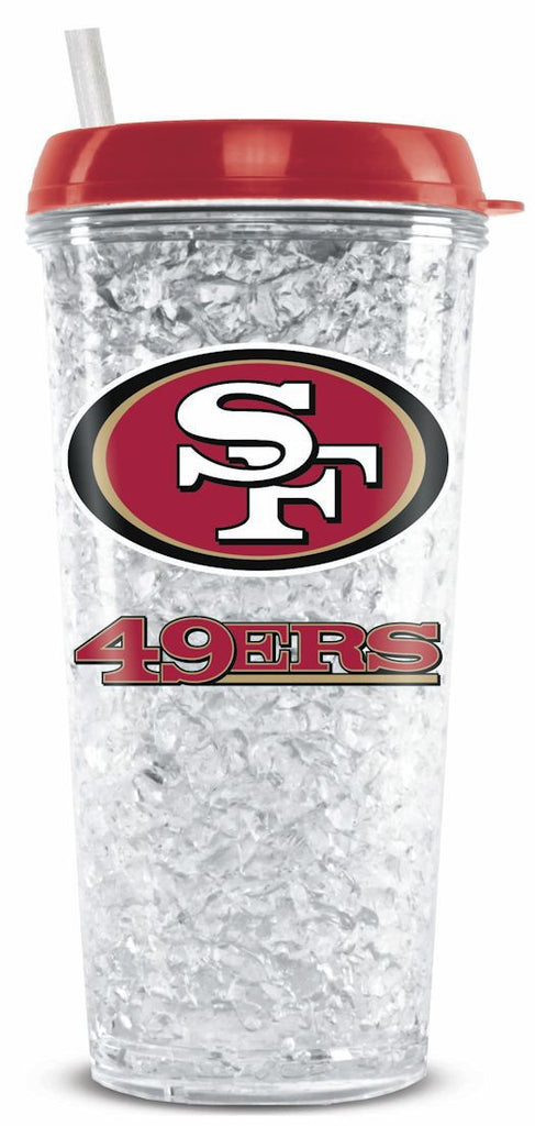 San Francisco 49ers Crystal Freezer Tumbler