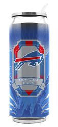 Buffalo Bills Stainless Steel Thermo Can - 16.9 ounces - Fanz of Sportz