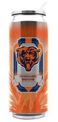 Chicago Bears Stainless Steel Thermo Can - 16.9 ounces - Fanz of Sportz