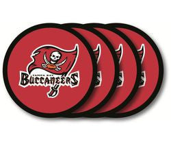 Tampa Bay Buccaneers Coaster 4 Pack Set