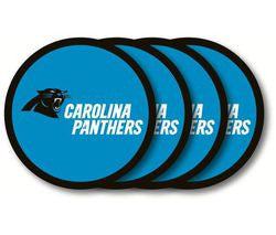 Carolina Panthers Coaster 4 Pack Set - Fanz of Sportz