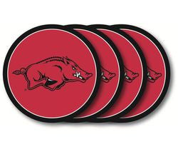 Arkansas Razorbacks Coaster Set - 4 Pack