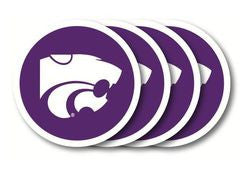 Kansas State Wildcats Coaster Set - 4 Pack
