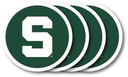 Michigan State Spartans Coaster Set - 4 Pack