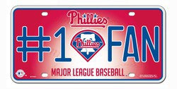 Philadelphia Phillies License Plate - #1 Fan