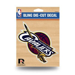 Cleveland Cavaliers Bling Die-Cut Decal