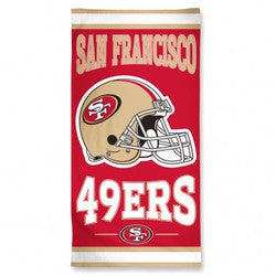 San Francisco 49ers Beach Towel
