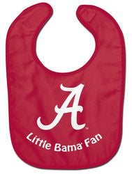Alabama Crimson Tide Baby Bib - All Pro Little Fan