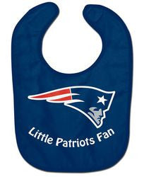New England Patriots All Pro Little Fan Baby Bib