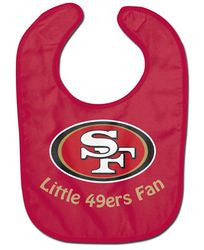 San Francisco 49ers All Pro Little Fan Baby Bib