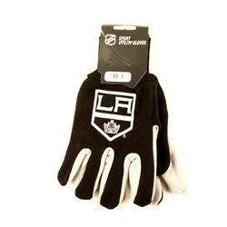 Los Angeles Kings Two Tone Gloves - Adult Size