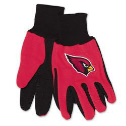 Arizona Cardinals Two Tone Adult Size Gloves - Fanz of Sportz