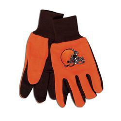 Cleveland Browns Two Tone Adult Size Gloves - Fanz of Sportz