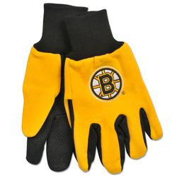 Boston Bruins Two Tone Gloves - Adult