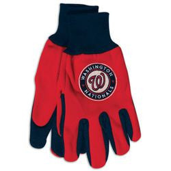 Washington Nationals Two Tone Gloves - Adult Size