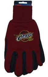 Cleveland Cavaliers Two Tone Gloves - Adult Size