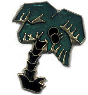 Palm Tree Lapel Pin 12 Count Lot