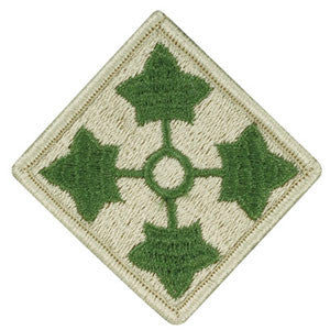 Army 4th Infantry Division Patch