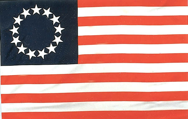 Betsy Ross 3'x5' Polyester Flag
