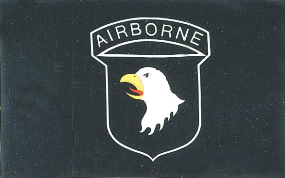 Airborne 3'x5' Polyester Flag