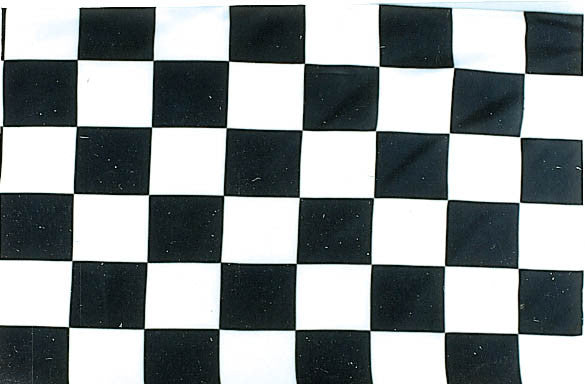Checkers Board 3'x5' Polyester Flag