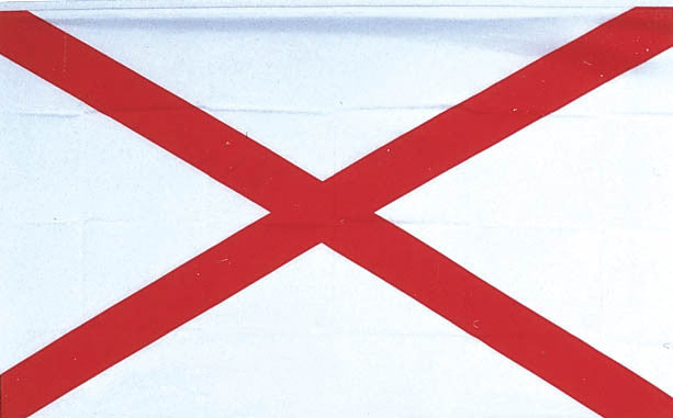 Alabama 3'x5' Polyester State Flag