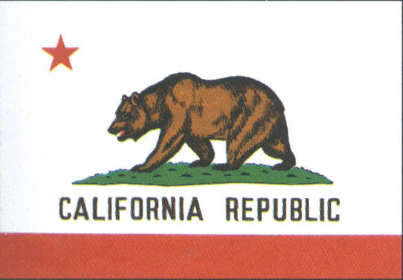 California 3'x5' Polyester State Flag