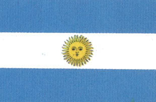 Argentina 3'x5' Polyester Flag