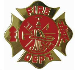 Fire Deparment Belt Buckle