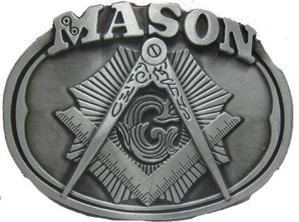 Mason Oval Belt Buckle