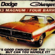 "Dodge 383 Magnum 4 Barrel  12""x16"" Tin Sign"