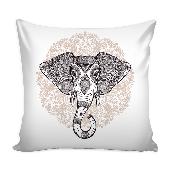 YogaCoaster Elephant Boheme Pillow Cover The Best Yoga Gifts for your Yoga Friends