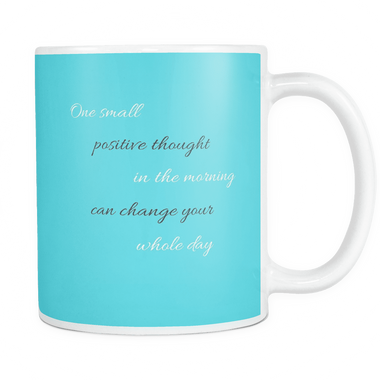 One Small Positive Thought Mug - YogaCoaster