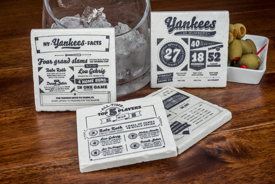 Yankees Story Drink Coaster Set - YogaCoaster
