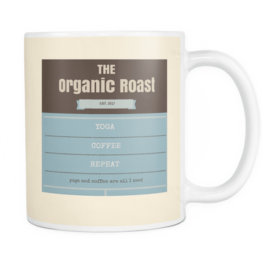 Organic coffee mug - YogaCoaster