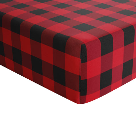 Crib Sheet - Buffalo Plaid
