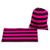 BLACK & MAGENTA STRIPE