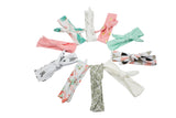 Baby Girl Knotted Headbands - 10 Pack (Modern Designs Collection)