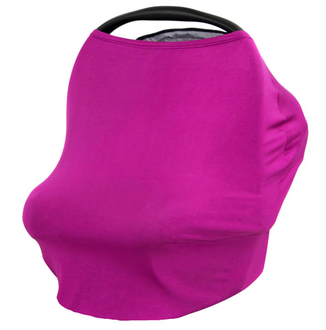 PLUM - Multi Use Baby Car Seat Canopy and Nursing Cover