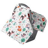 Woodland Animal Carseat Canopy
