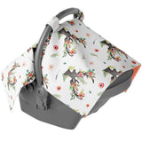 Canopy Car Seat Cover - Wildflower Deer
