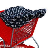 Copy of Shopping Cart Cover - Black White Arrows