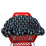 Shopping Cart Cover - Black White Arrows