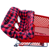 Shopping Cart Cover - Buffalo Plaid