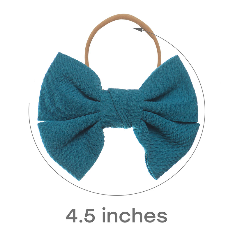 Baby Girl XL Bow Headbands Brielle Collection