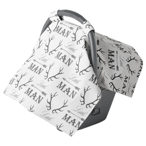 Canopy Car Seat Cover - Little Man