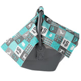 Blue Little one Carseat Canopy